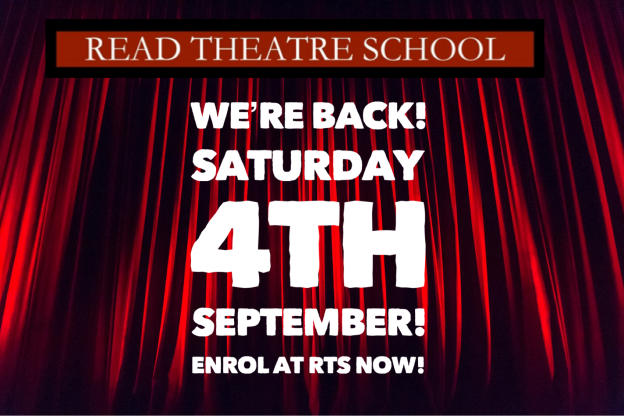 Read Theatre School is back poster
